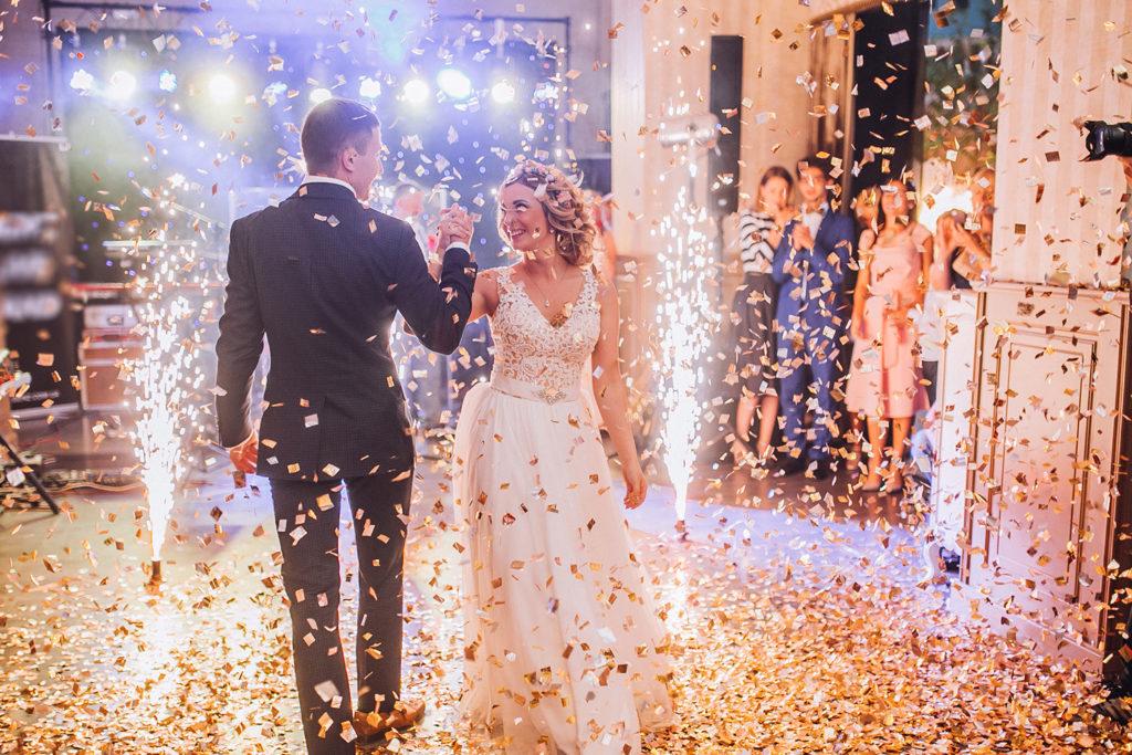 bröllop, lycksalighet